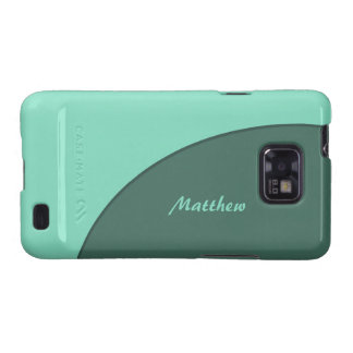 Green Simple Modern Galaxy SII Covers