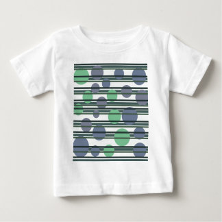 Green simple pattern baby T-Shirt
