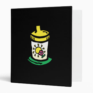 green sippy cup binders