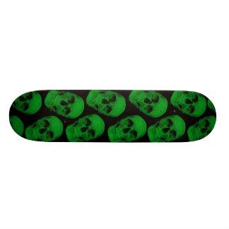 Green Skull board Skateboard Decks