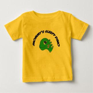 Green Sleepy Stego Primal Baby T-Shirt