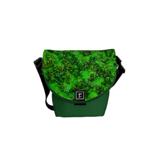 Green Slime Commuter Bags
