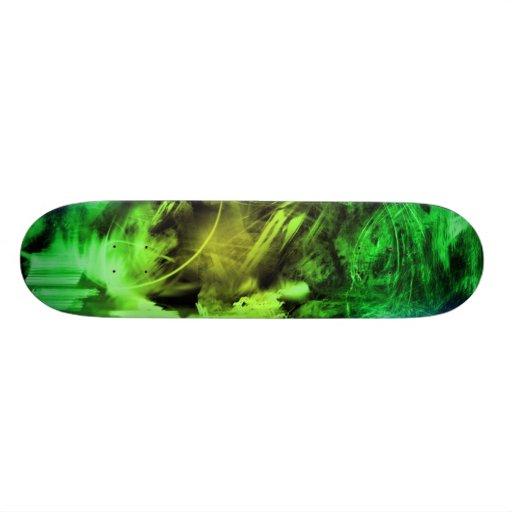 Green Smoke Skate Board Decks