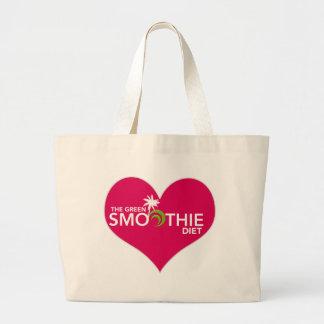 Green Smoothie Diet Plan Jumbo Tote Bag