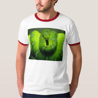 green snake python T-Shirt