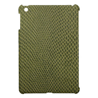 green snakeskin print iPad mini cover