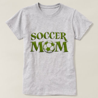 Green Soccer Mom T-Shirt