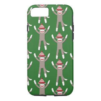 Green Sock Monkey iPhone 7 Case