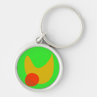 Green Space Key Chains