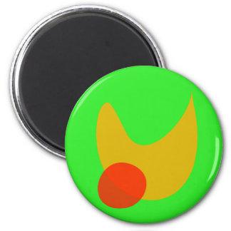 Green Space Fridge Magnet