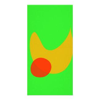 Green Space Custom Photo Card