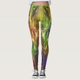 Green Sparklers Leggings