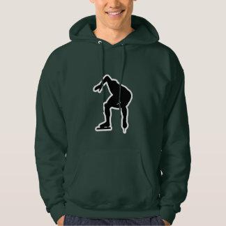 Green Speed Skater Hoodie