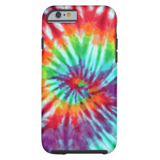 Green Spiral Tie-Dye iPhone 6 case Tough iPhone 6 Case
