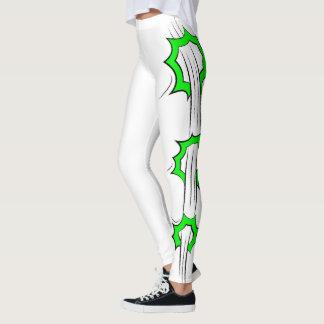 Green Splash Leggings