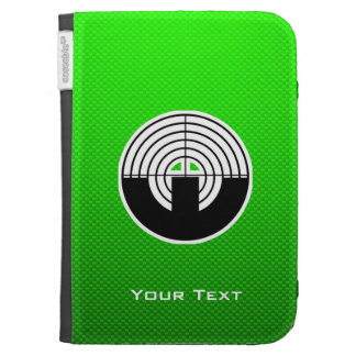 Green Sport Shooting Kindle Keyboard Cases
