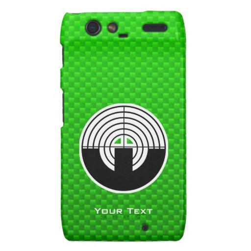 Green Sport Shooting Motorola Droid RAZR Case