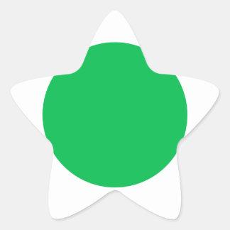 Green Spot Sticker