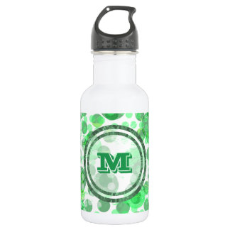 Green Spots Monogram 532 Ml Water Bottle