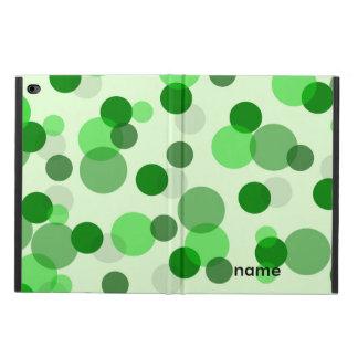 Green Spots Pattern