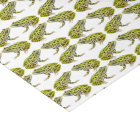 Green Spotted Leopard Frog Tissue Paper