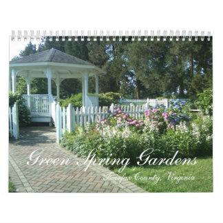 Green Spring Gardens, Fairfax County, Virgini... Wall Calendars