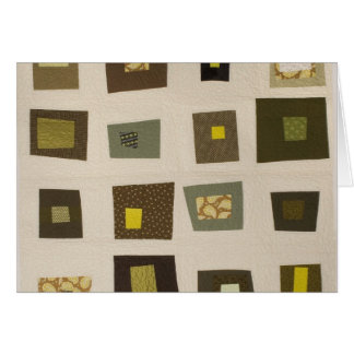 Green Squares Card