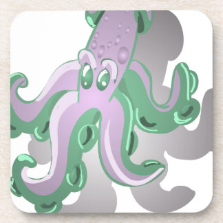 Green Squid Coaster