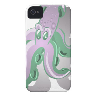 Green Squid iPhone 4 Cover