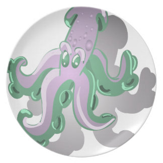 Green Squid Plate