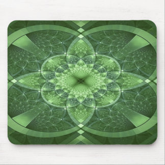 Green St. Patrick Ireland Mousepad, Green Mouse Pad