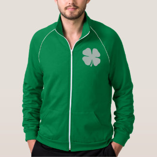 Green St Patrick's Day Jacket | Lucky Irish clover