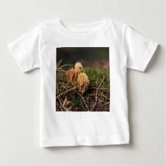 Green staining coral fungi (Ramaria abietina) Baby T-Shirt