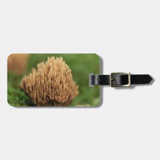Green staining coral fungi (Ramaria abietina) Luggage Tag