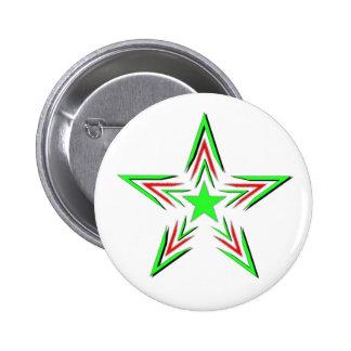 green star 2 inch round button