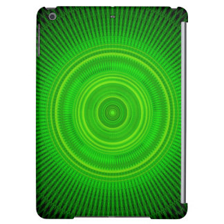 Green Star Formation Mandala Cover For iPad Air