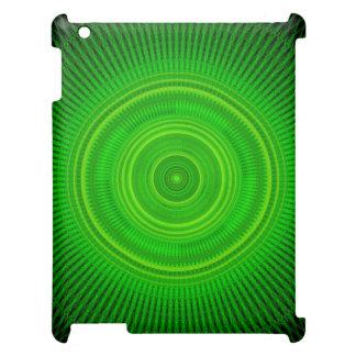 Green Star Formation Mandala iPad Covers