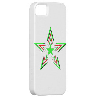 green star iPhone 5 cover