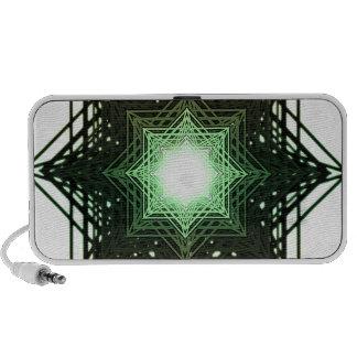 Green Star Notebook Speakers