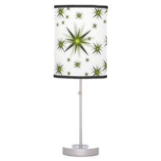 green star white lamp shade