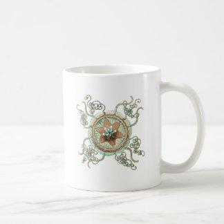 Green Starfish Coffee Mug