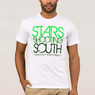Green Stars Shooting South T-Shirt