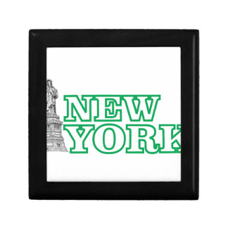 green statue of liberty art gift box