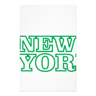 green statue of liberty art stationery