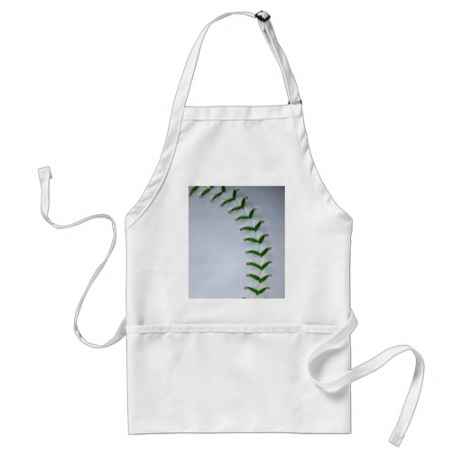 Green Stitches Baseball / Softball Apron