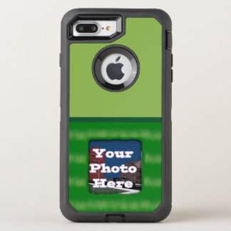 Green Stripes OtterBox Defender iPhone 8 Plus/7 Plus Case