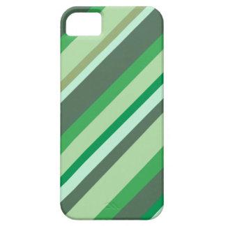 Green stripes phone case