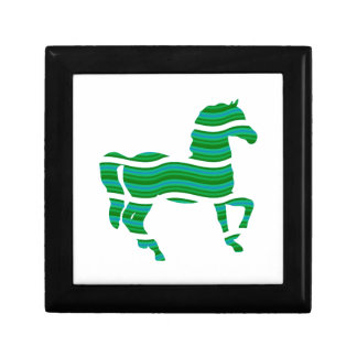 Green stripped Thoroughbred Gift Box