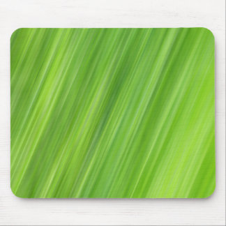 Green strips pattern mouse pad