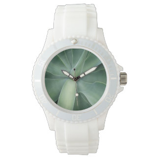 Green Succulent Watch